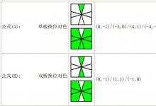 Square-One(SQ1)魔方面色对棱公式,sq1魔方公式