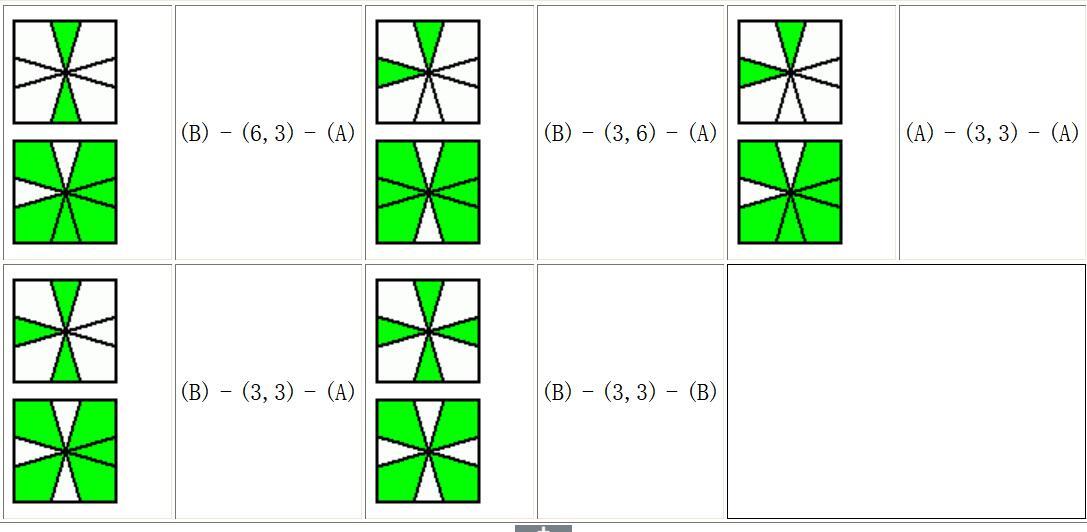 square-one(sq1)魔方面色对棱公式,sq1魔方公式图片