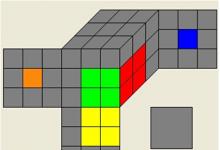 三阶魔方最少步教程-魔方最少步公式